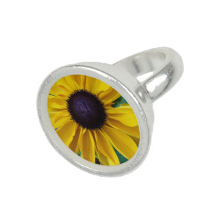 Black Eyed Susan Beauty Photo Ring
