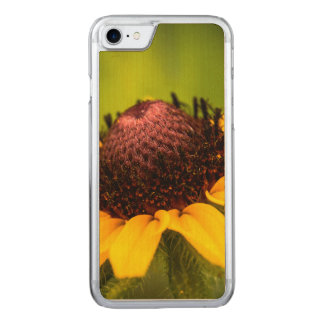 Black Eyed Susan Carved iPhone 8/7 Case
