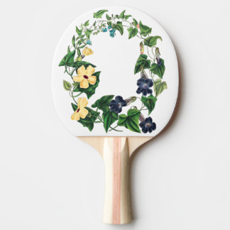 Black Eyed Susan Flowers Floral Wreath Paddle Ping Pong Paddle