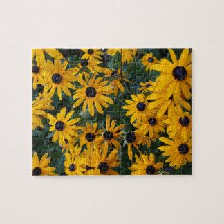 Black-eyed Susan Flowers Jigsaw Puzzle