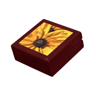 Black Eyed Susan Life is Beautiful Keepsake Box