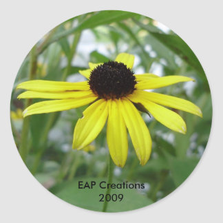 Black eyed susan sticker