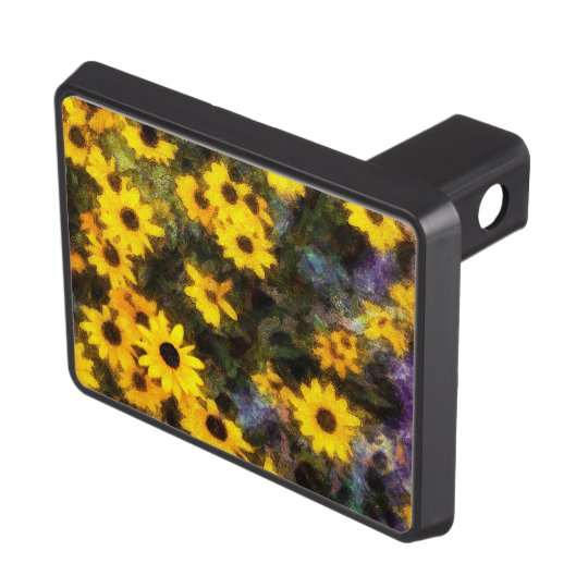 Black Eyed Susan Tow Hitch Covers