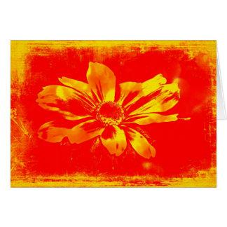 Black-Eyed Susan Wildflower - Digital Art Card
