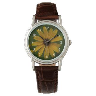 Black Eyed Susan Wrist Watch
