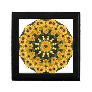 Black-eyed Susans,  Floral Mandala Gift Box