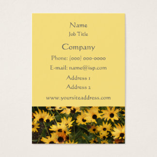 Black-eyed Susans Profile Card