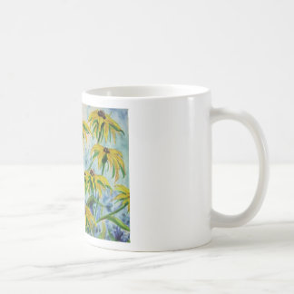 Black eyed suzans in Watercolor Coffee Mug