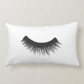 Black Eyelash - Lumbar Pillow