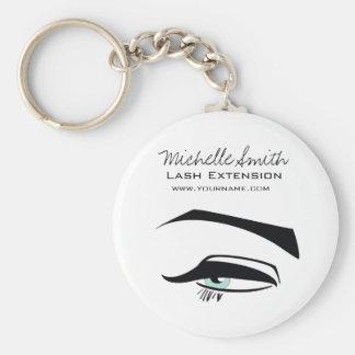 Black Eyeliner blue eye henna make up icon Keychain