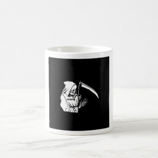 black  f death coffee mug