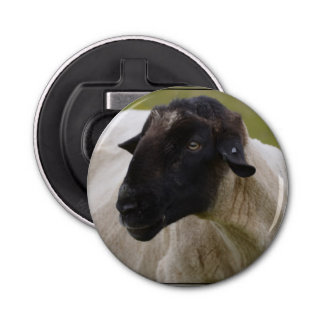 Black Faced Sheep Bottle Opener