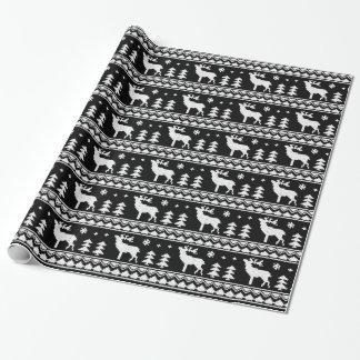 Black Fair Isle Christmas Sweater Pattern