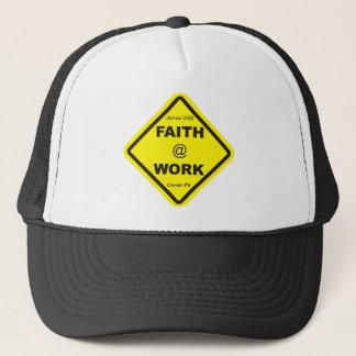 Black Faith at work cap