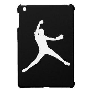 Black Fastpitch iPad Mini Case