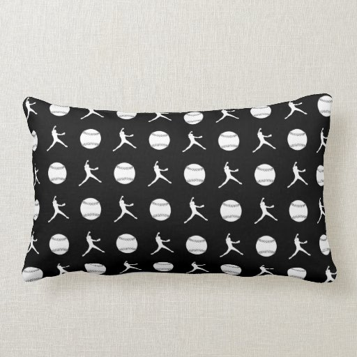 Black Fastpitch Pillow