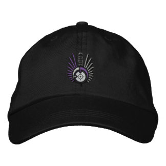 Black FateofDestinee Embroidered Logo Ball Cap