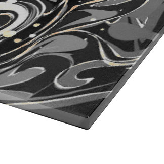 Black faux marble texture boards