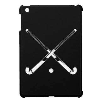Black Field Hockey iPad Mini Case