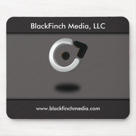 Black Finch Media Mousepad