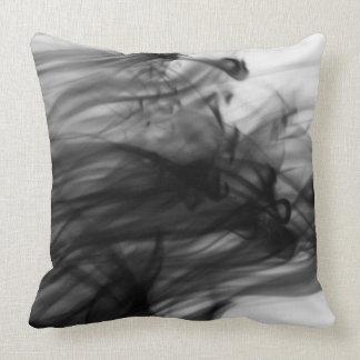 "Black Fire I Cotton Throw Pillow 20"" x 20"""