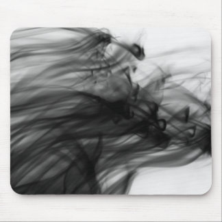 Black Fire I Mousepad by Artist C.L. Brown