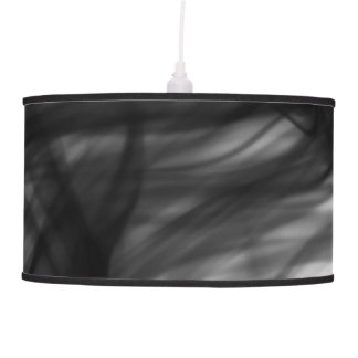 Black Fire I Pendant Lamp by Artist C.L. Brown