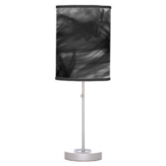 Black Fire I Table Lamp by Artist C.L. Brown
