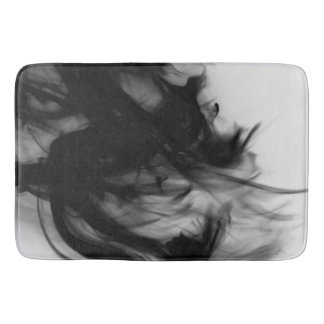 Black Fire IV Bath Mat by C.L. Brown