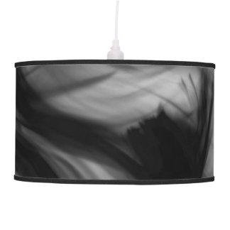 Black Fire IV Pendant Lamp by Artist C.L. Brown