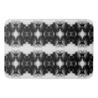 Black Fire IV Remix I Bath Mat by C.L. Brown