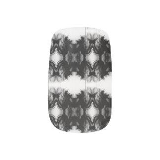 Black Fire IV Remix Minx Nails by C.L. Brown Minx Nail Art