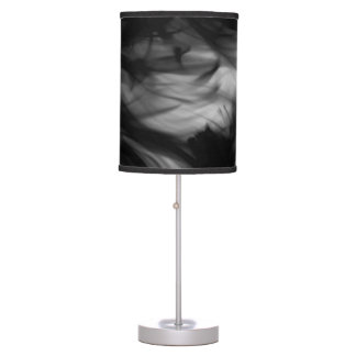 Black Fire IV Table Lamp by Artist C.L. Brown