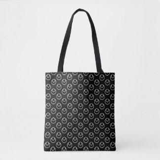Black Fish Eye Tote Bag