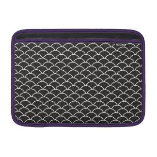 Black Fish Scales Sleeve For MacBook Air