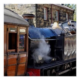 Black Five Locomotive No. 6619 Poster
