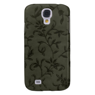 Black Floral iPhone 3 Case
