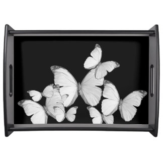 Black Fly Serving Tray