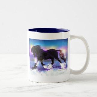 Black Foot Shire Two-Tone Coffee Mug