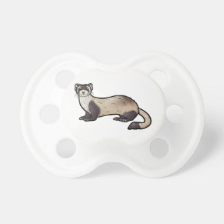 Black Footed Ferret Baby Pacifier