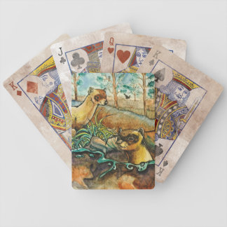 Black Footed Ferret Playing Card Deck