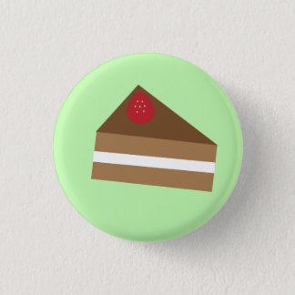 Black Forest Cake 1 Inch Round Button