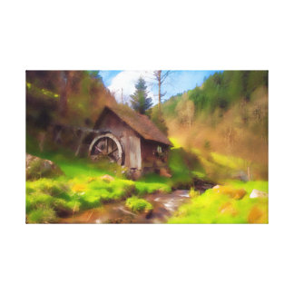Black Forest Mill Canvas Print