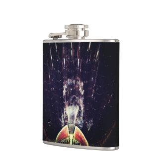 Black Fountain Hip Flask