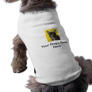 Black French Bulldog Doggie T-Shirt