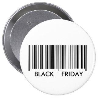 Black Friday 4 Inch Round Button