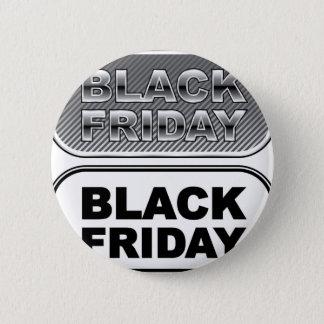 Black Friday button silver