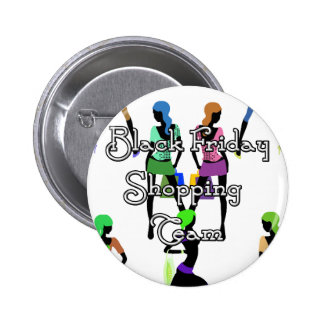 Black Friday Glamour Girls 2 Inch Round Button
