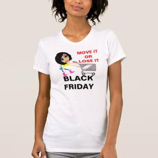 Black Friday Ladies Casual Scoop T-Shirt