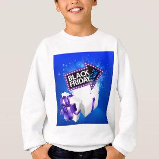 Black Friday Sale Gift Bow Design Sweatshirt